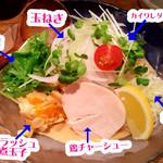 Torisobajiyuubanichikoro - 具材で麺が見えないほど^^