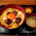 鎌倉 鶏味座 - 究極の親子丼(レバー入り1300円)