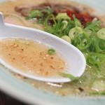 めんちゃんラーメン - スープ