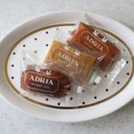 アドリア洋菓子店 - 焼き菓子3点