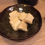 芳べえ - クリームチーズの味噌漬け