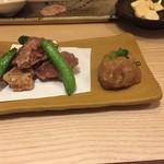 芳べえ - もち豚の山椒揚げ