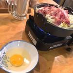 まもる - いつものすき鍋withたまご