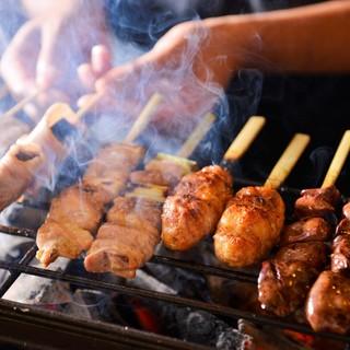 【熟成鶏焼鳥】焼き方にもこだわった絶品焼き鳥