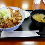 ふれあいステーション龍泉閣 - やまびこ丼 ¥880