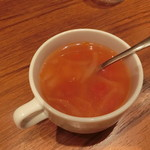 いしがまや ハンバーグ - スープ