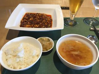 スーツァンレストラン 陳 名古屋店 - 陳建一の麻婆豆腐セット