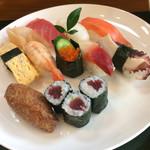 旭寿司 - 支払ったのは1000円丁度でした。