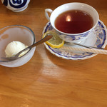 旭寿司 - アイス、紅茶、迄付いてお得感満載でした。
