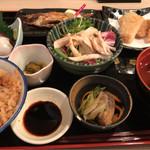 鬼平 - 限定10食!贅沢鬼平御膳 1200円。