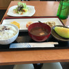 ランコントル - 料理写真:ご飯、味噌汁、おかず、デザート