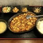 中華ダイニング 蓮華 - 料理写真:麻婆豆腐ランチ、830円です。