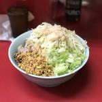 ラーメン二郎 - 料理写真:【2017.6.17】ねぎ汁なし¥790 あぶら少し。