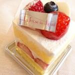 ラ・ローズ・ジャポネ - ショートケーキ