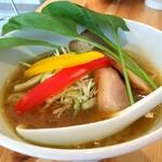 吉法師 - 鶏白湯醤油