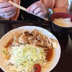キネマ館 - 相方さんは生姜焼き定食