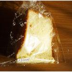 ミルミル - 料理写真:バニラシフォン(カスタード入り)