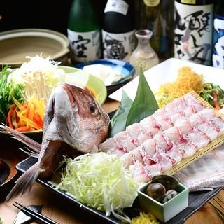 6・7月限定◆桜鯛しゃぶしゃぶなど人気コースが500円OFF