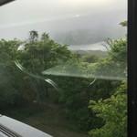 68962321 - 雲ってます。窓からの見える春採湖