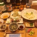 谷や 和 - 小豆コース3500円(例)