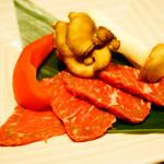 北陸集らく - 若狭牛と加賀野菜の色とりどり陶板焼き
