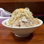 Kaeru - 油めん 野菜、玉ねぎマシ