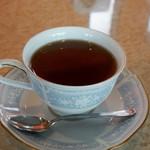 羅甸 - セットのコーヒー。