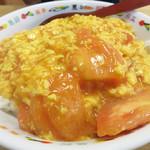 68964529 - トマトタマゴ丼800円。