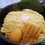 麺屋 から草 - 麺(中盛、細麺)(2017年6月22日)