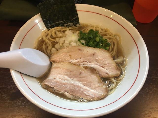 零一弐三 - 煮干しそば750円!