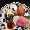鎌倉 松原庵 欅 - 料理写真:そばセットBの前菜盛り合わせ
