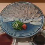 割烹 福源 - 活きアナゴ