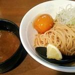 つけ麺屋ちっちょ - 【つけ麺(並盛) + 特製煮玉子】¥750 + ¥100