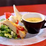 バルde窯 - 前菜とスープ