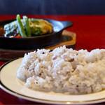 バルde窯 - 九種類の雑穀ご飯