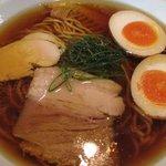 麺や 元町 - 味玉しょうゆ