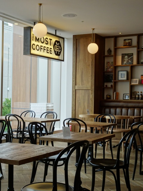 THE MOST COFFEE - 店内