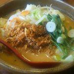 麺場 田所商店 - 料理写真:信州味噌の野菜らーめん770円(税別)