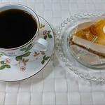 フランス菓子工房 マリーポール - 自宅で☆珈琲と焼きチーズケーキ