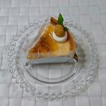 フランス菓子工房 マリーポール - 焼きチーズケーキ