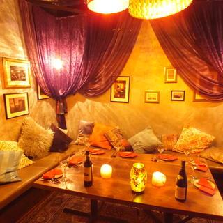 ◆大人の隠れ家的な完全個室でゆったりと◆