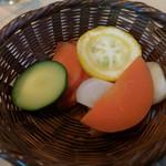 ムスムス - 旬の蒸し野菜