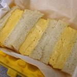 俺のBakery&Cafe - 厚焼きたまごサンドイッチ680円