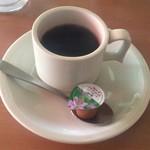 大益ドライブイン - 食後のホットコーヒー