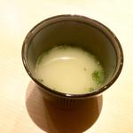 きなり - 鶏スープ