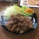 さかさ食堂 - 焼肉定食単品(生姜)