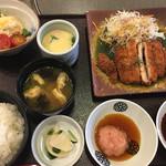 かごの屋 - 昼膳(´∀`)☆★★☆