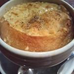 ルビストロドゥプラ - オニオングラタンスープ