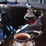 しのはら珈琲店 - サイフォン式コーヒー(2杯とれます)