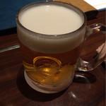 田中田 - 生ビール